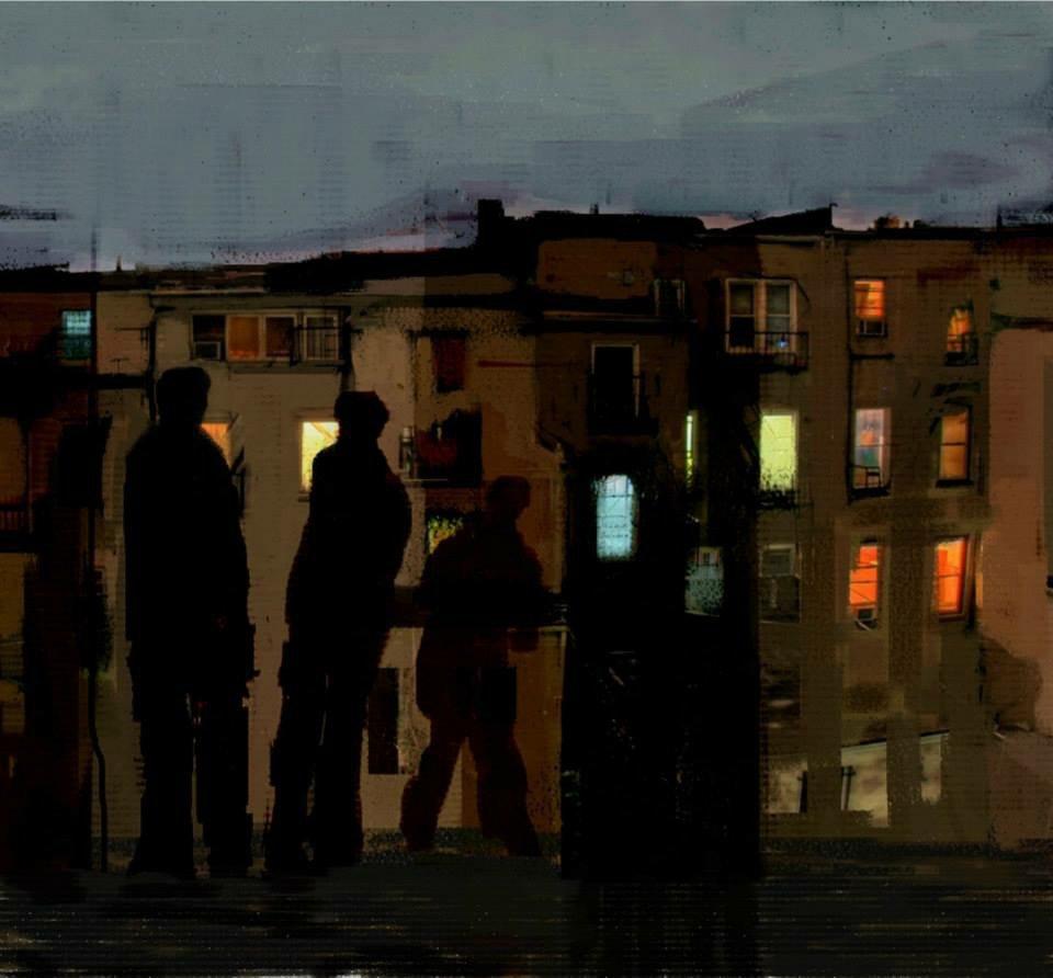 Gece işçileri / Geceye hazırlık II