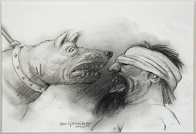 Görsel 11.Fernando Botero, Abu Gharib